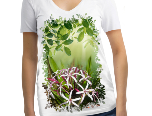 Women's Short Sleeve Candace Crinums T-Shirt